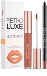 Makeup Revolution Retro Luxe ajakápoló készlet