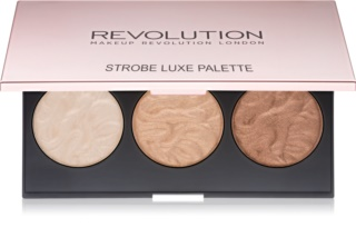 Makeup Revolution Strobe Luxe Highlighter Palette