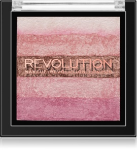 Makeup Revolution Shimmer Brick Bronzer und Highlighter 2 in 1