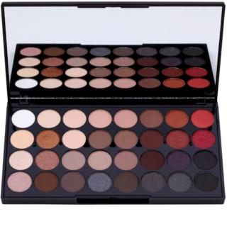 Makeup Revolution Flawless 2 paleta očních stínů se zrcátkem