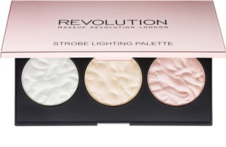 Makeup Revolution Strobe Lighting paleta rozjasňovačů