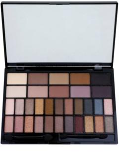 Makeup Revolution I ♥ Makeup Ur The Best Thing paleta očných tieňov