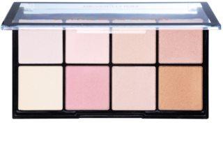 Makeup Revolution Ultra Pro Glow Palette mit Aufhellern