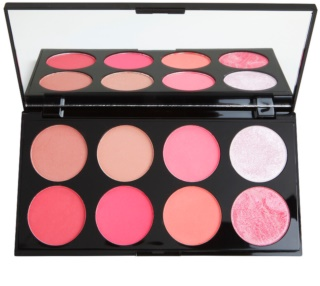 Makeup Revolution Ultra Blush arcpirosító paletta