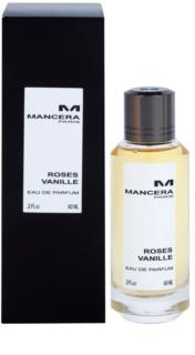 Mancera Roses Vanille eau de parfum für Damen 60 ml