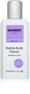 Marbert Bath & Body Classic Deo-Spray für Damen