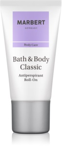 Marbert Bath & Body Classic Deo-Roller für Damen 50 ml