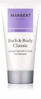 Marbert Bath & Body Classic dezodorant w kremie dla kobiet 50 ml