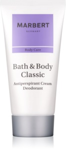Marbert Bath & Body Classic Creme Deodorant für Damen 50 ml