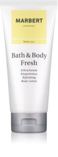 Marbert Bath & Body Fresh Körperlotion für Damen 200 ml