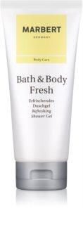 Marbert Bath & Body Fresh Duschgel für Damen 200 ml