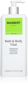 Marbert Bath & Body Vital lotion corporelle revitalisante