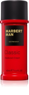 Marbert Man Classic cream Deodorant za moške 40 ml