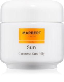 Marbert Sun Carotene Sun Jelly gel bronzare pentru față și corp SPF 6