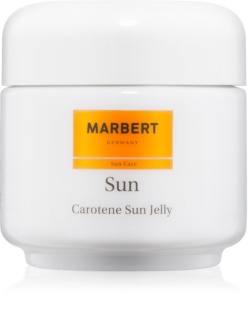 Marbert Sun Carotene Sun Jelly gel za bronast ten za obraz in telo SPF 6