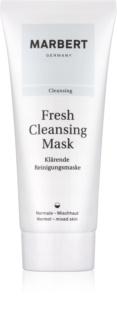 Marbert Fresh Cleansing čistiaca ílová pleťová maska pre normálnu až zmiešanú pleť
