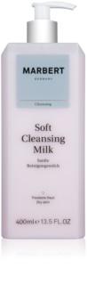 Marbert Soft Cleansing leite de limpeza para pele seca e sensível