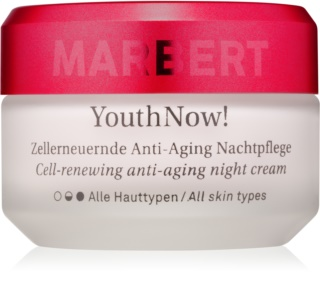 Marbert Anti-Aging Care YouthNow! Nachtcreme gegen Falten für die Erneuerung der Hautzellen
