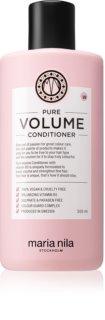 Maria Nila Pure Volume Conditioner für mehr Volumen bei feinem Haar mit feuchtigkeitsspendender Wirkung