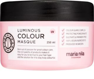 Maria Nila Luminous Colour Feuchtigkeitsspendende Maske mit ernährender Wirkung für gefärbtes Haar