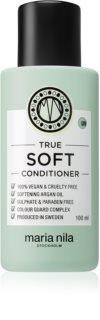 Maria Nila True Soft feuchtigkeitsspendender Conditioner für trockenes Haar