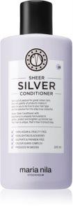 Maria Nila Sheer Silver hydratačný kondicionér neutralizujúci žlté tóny