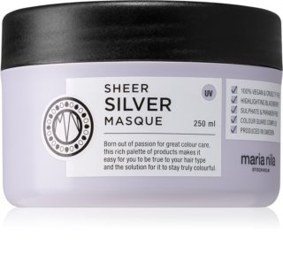 Maria Nila Sheer Silver hydratační a vyživující maska pro blond vlasy