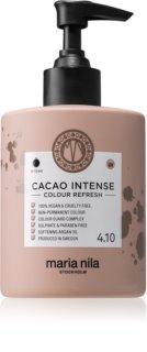 Maria Nila Colour Refresh Cacao Intense Sanfte nährende Maske ohne permanente Farbpigmente