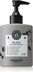 Maria Nila Colour Refresh Black Sanfte nährende Maske ohne permanente Farbpigmente