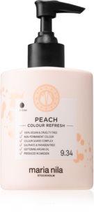 Maria Nila Colour Refresh Peach Sanfte nährende Maske ohne permanente Farbpigmente