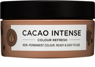 Maria Nila Colour Refresh Cacao Intense masque nutritif doux sans pigment coloré permanent