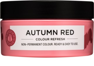 Maria Nila Colour Refresh Autumn Red masque nutritif doux sans pigment coloré permanent