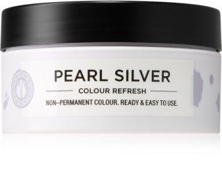 Maria Nila Colour Refresh Pearl Silver Sanfte nährende Maske ohne permanente Farbpigmente