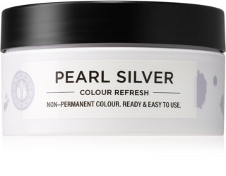 Maria Nila Colour Refresh Pearl Silver Gentle Nourishing Mask without Permanent Color Pigments