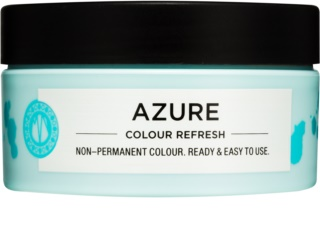 Maria Nila Colour Refresh Azure masque nutritif doux sans pigment coloré permanent