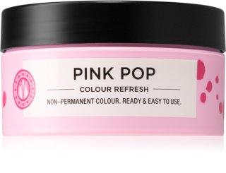 Maria Nila Colour Refresh Pink Pop jemná vyživující maska bez permanentních barevných pigmentů