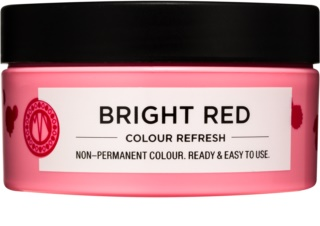 Maria Nila Colour Refresh Bright Red masque nutritif doux sans pigment coloré permanent