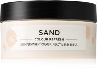 Maria Nila Colour Refresh Sand Sanfte nährende Maske ohne permanente Farbpigmente