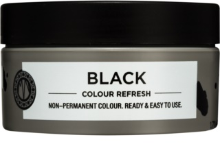 Maria Nila Colour Refresh Black masque nutritif doux sans pigment coloré permanent