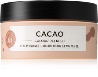 Maria Nila Colour Refresh Cacao Sanfte nährende Maske ohne permanente Farbpigmente