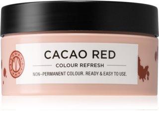 Maria Nila Colour Refresh Cacao Red Sanfte nährende Maske ohne permanente Farbpigmente