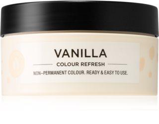 Maria Nila Colour Refresh Vanilla Sanfte nährende Maske ohne permanente Farbpigmente
