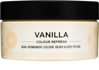 Maria Nila Colour Refresh Vanilla masque nutritif doux sans pigment coloré permanent