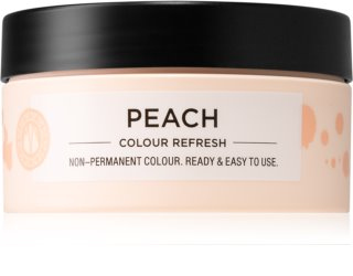 Maria Nila Colour Refresh Peach Gentle Nourishing Mask without Permanent Color Pigments
