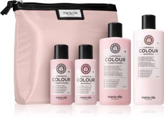 Maria Nila Luminous Colour kosmetická sada pro barvené vlasy