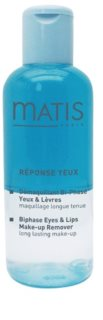 MATIS Paris Réponse Yeux лосион за почистване на грим с две съставки за зоната около очите и устните