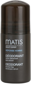 MATIS Paris Réponse Homme Roll-On Deodorant  for All Types of Skin Including Sensitive Skin