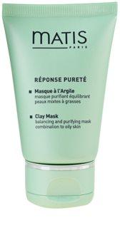 MATIS Paris Réponse Pureté почистваща маска  за мазна кожа