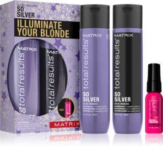 Matrix Total Results So Silver Gift Set I. (for Blonde Hair)