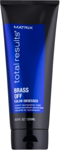 Matrix Total Results Brass Off Color Obsessed Custom Neutralization Mask
